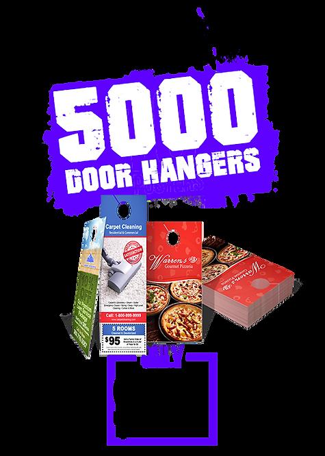5000 4x11 Door Hangers