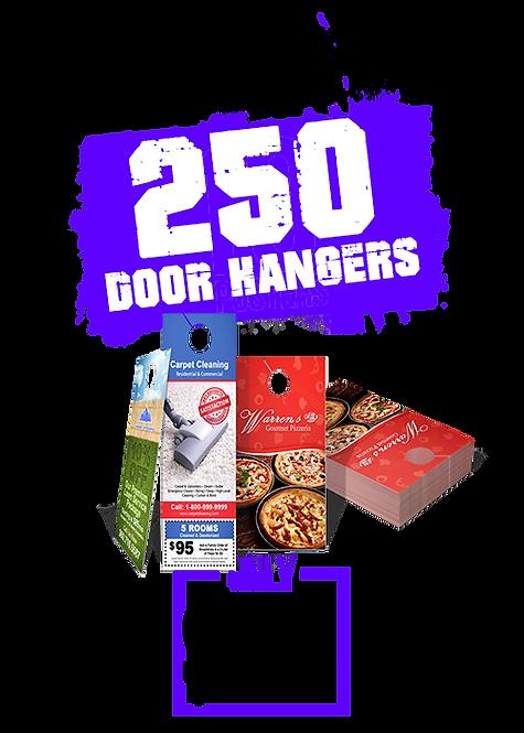 250 4x9 Door Hangers