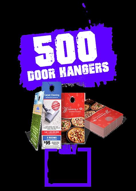 500 4x9 Door Hangers