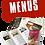 Thumbnail: MENUS