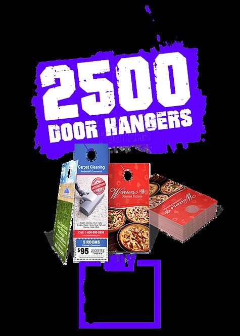 2500 4x11 Door Hangers