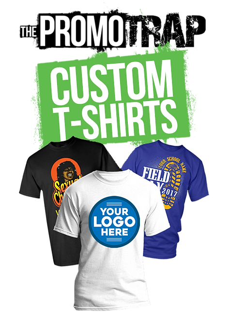 5 Custom Printed T- Shirt (One Color)