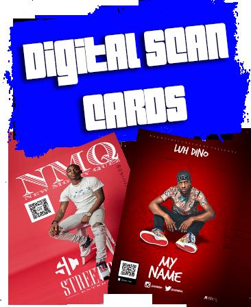 DIGITAL SCAN CARDS