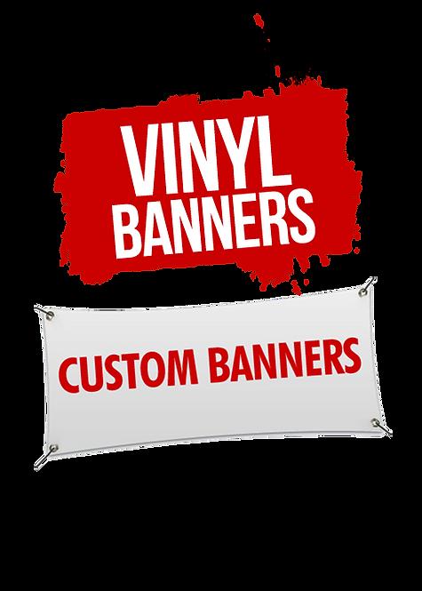VINYL BANNERS  6X8