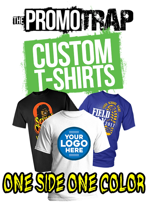 20 Custom Printed T- Shirt (One Color)