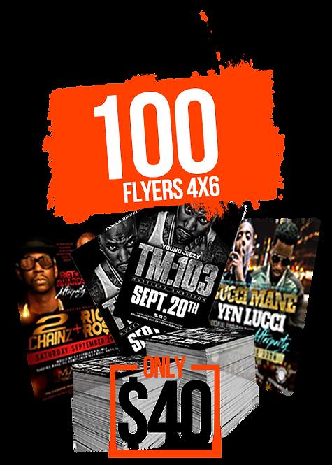 4X6 FLYERS