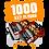 Thumbnail: 1000 5x7 FLYERS