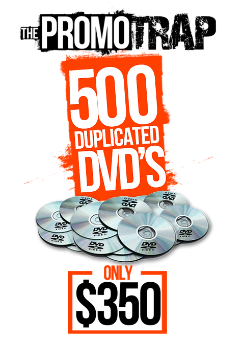 500 DVD'S WITH THERMAL PRINT