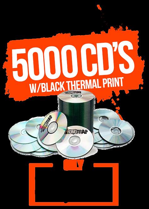 5000 CD'S W/ THERMAL PRINT