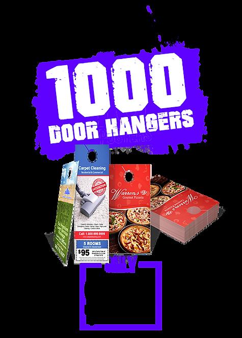 1000 4x11 Door Hangers