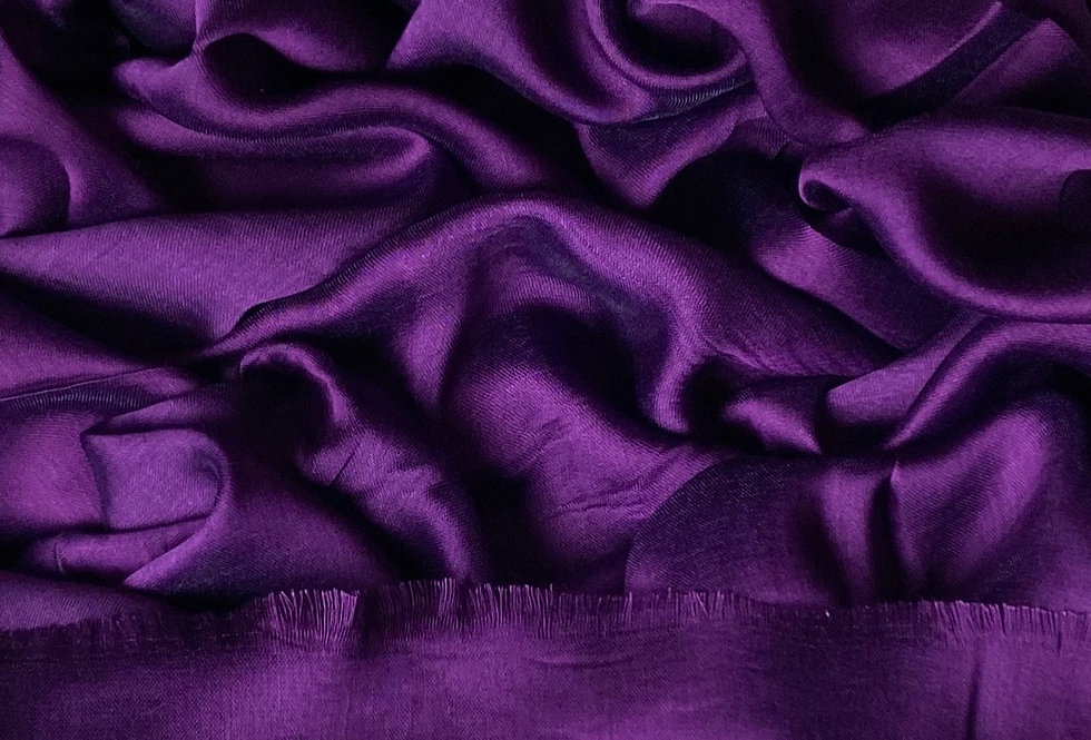 Silk Hijab in Purple