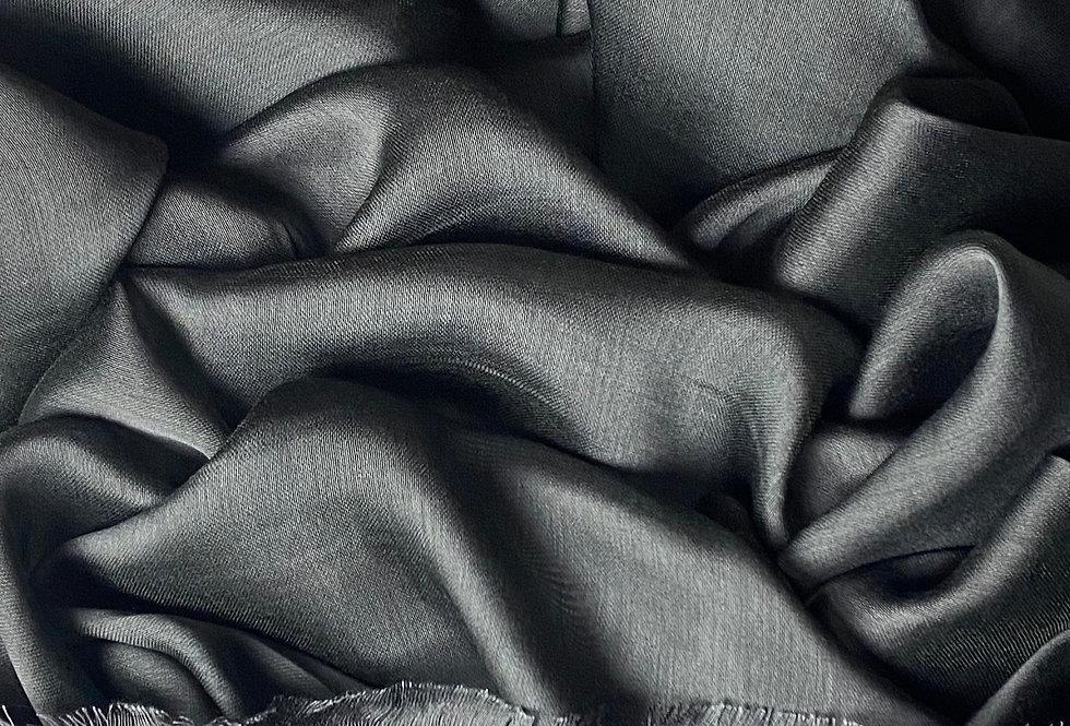 Silk Hijab in Grey