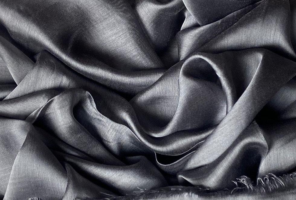 Silk Hijab in Slate