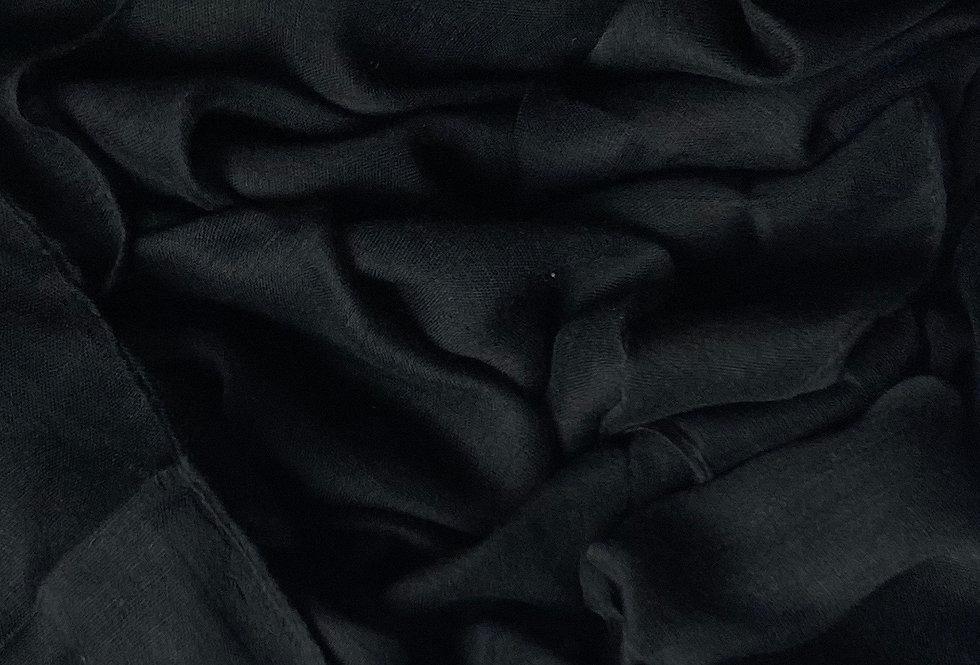 Plain Hijab in Black