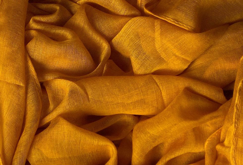 Plain Hijab in Mustard
