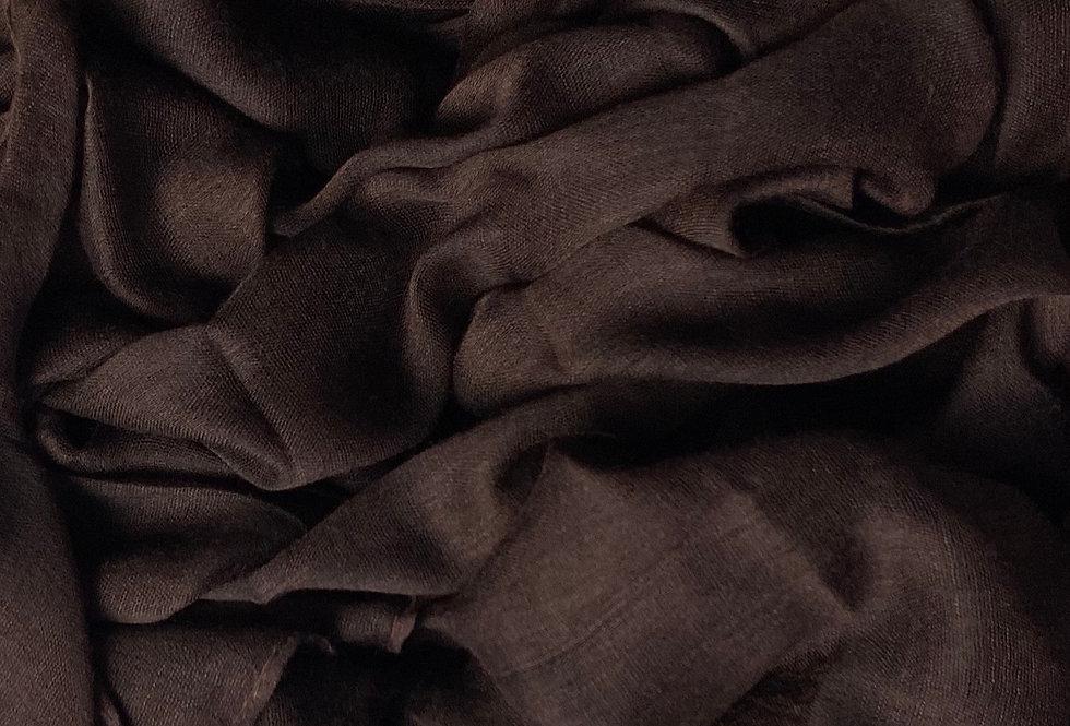 Plain Hijab in Brown