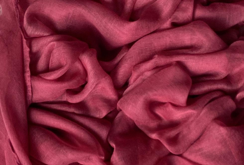 Plain Hijab in Rose