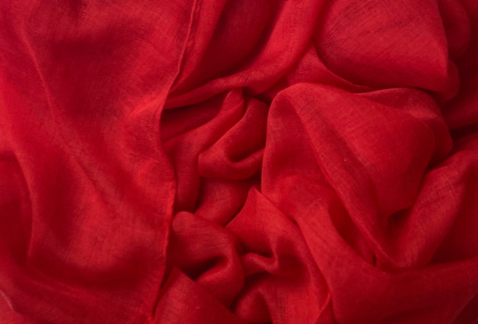 Plain Hijab in Red