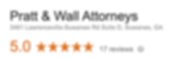 Pratt & Wall Attorneys Google Reviews