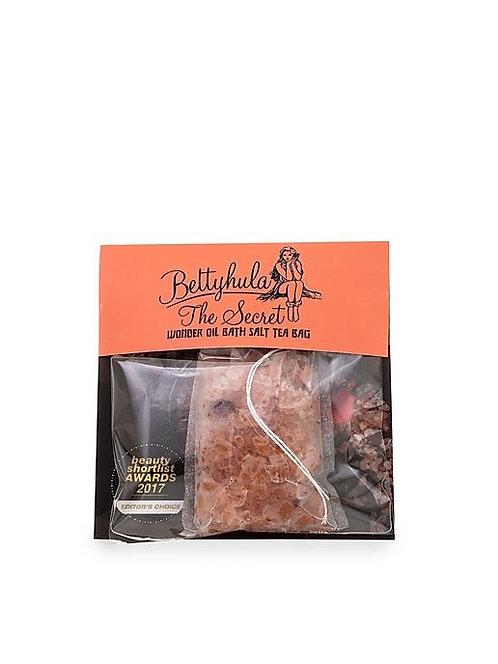 Betty Hula: Bath salt Tea bag