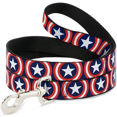 Captain America Shield Quick-Release Collar