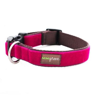 'Bettie' Pink Velvet Collar
