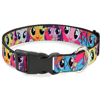 My Little Ponies Fuchsia Quick-Release Collar