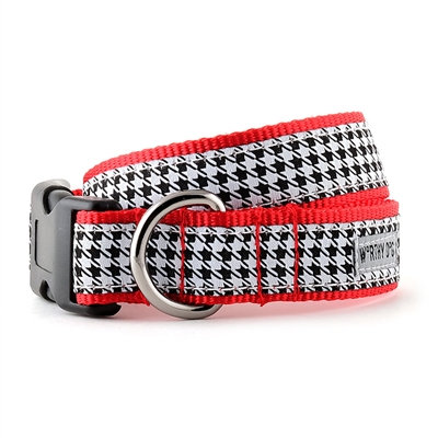 B&W Houndstooth Collar