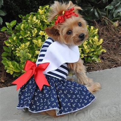 Nautica Dress Dress w/ Leash