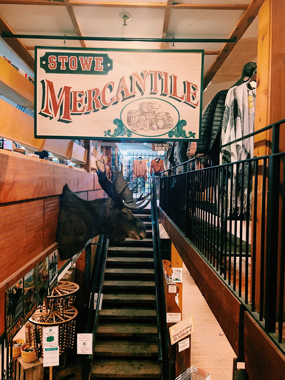 Stowe Mercantile. Downtown Shopping in Stowe, VT