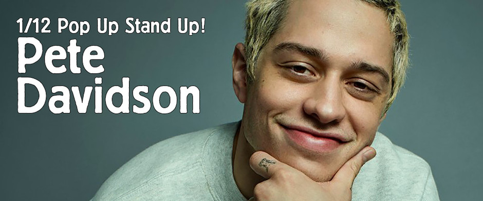 LIVE from Tarrytown Music Hall... It's Pete Davidson!