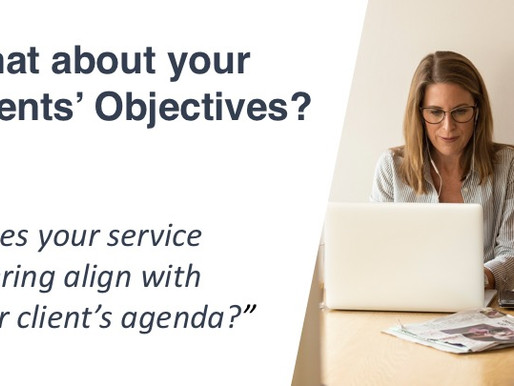 20 - What about your Clients' Objectives?