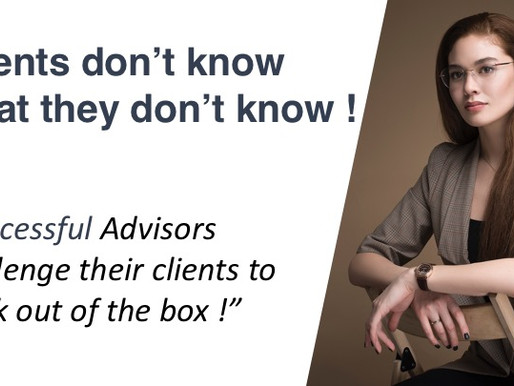 17 - Clients don't know what they don't know !