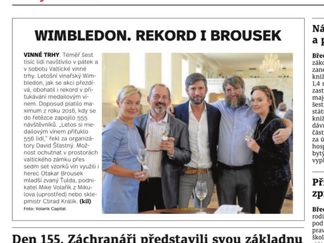 Na Valtických vinných trzích se o víkendu lámaly rekordy a ochutnávalo přes 700 vzorků vína
