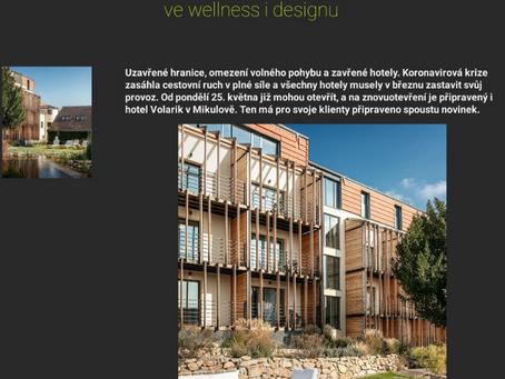 Hotel Volarik se chystá na znovuotevření - představí Sky Wellness i nový lobbybar
