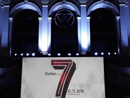 Volarik Capital přispěl na galavečeru Forbes dobré věci