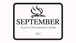 September Edition 2021 - Nazarene News