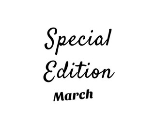 Special Edition - March 13th, 2018
