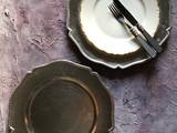 Under dish Silver
