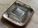 シルバートレー付きガラス器