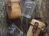 Spa Glass with Basket