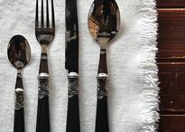 Brasserie Cutlery Black
