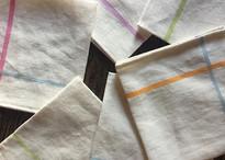 Napkin Rainbow White Linen