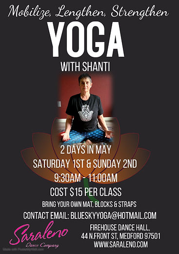 Land Yoga class with Shanti - Made with