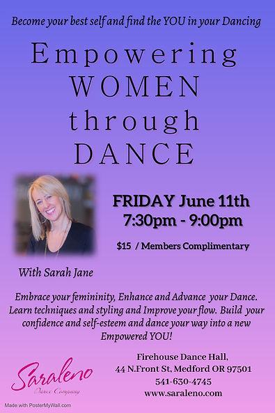 Empowering Women through Dance with Sara
