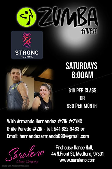 Zumba Strong with Armando  Ale - Made wi
