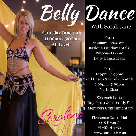 Bellydance Workshop - Made with PosterMy