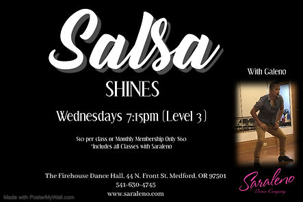 Salsa Shines - Made with PosterMyWall.jp