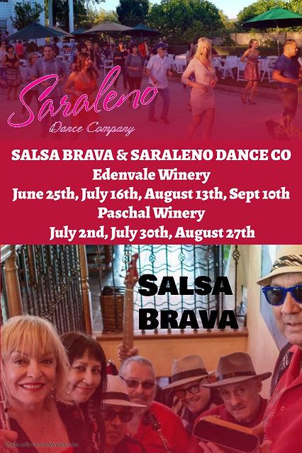 Salsa Brava  Saraleno - Made with Poster
