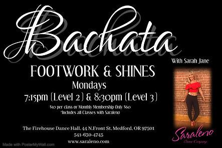 Bachata Footwork  Shines - Made with Pos